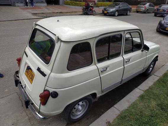 Vendo Renault 4 Excelente Estado Segundo Dueño 97% Original