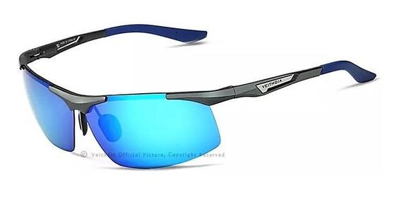 Óculos De Sol Veithdia - Armação Ultra Leve De Alumínio