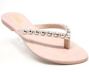 Sandália Rasteira Doma Shoes Rosa