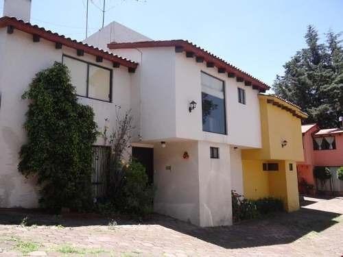 Renta De Casa En Condominio Contadero, Cuajimalpa