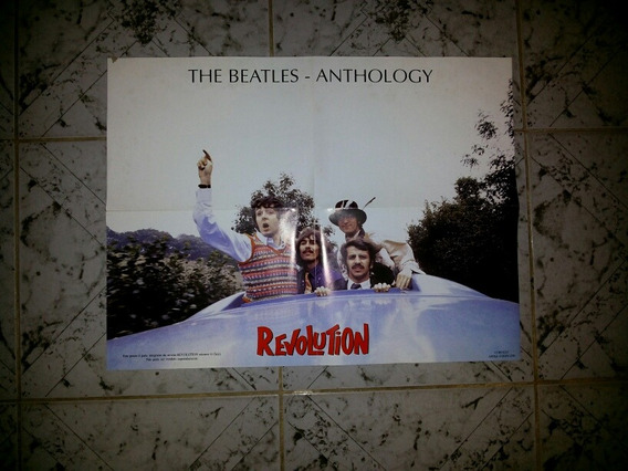 Poster The Beatles Anthology Original