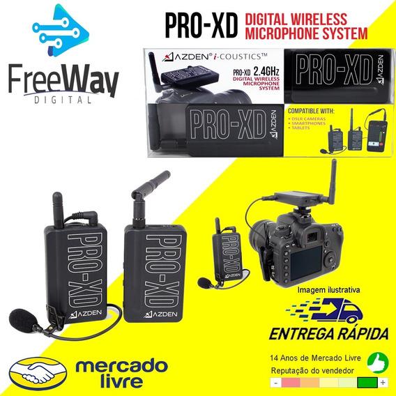 Microfone Lapela Azden Pro-xd - Original - Envio Imediato