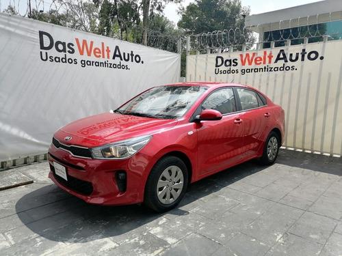 Imagen 1 de 9 de Kia Rio Sedan L Rojo 2020