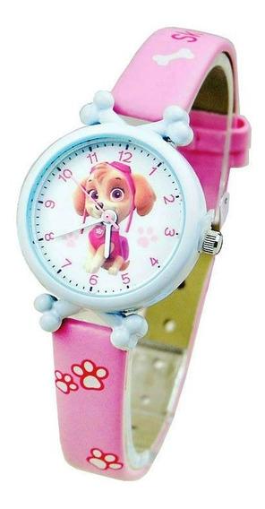Relógio De Pulso Patrulha Canina Menina Criança Infantil 142