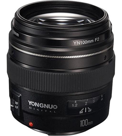 Lente Canon 100mm F.2 Yn