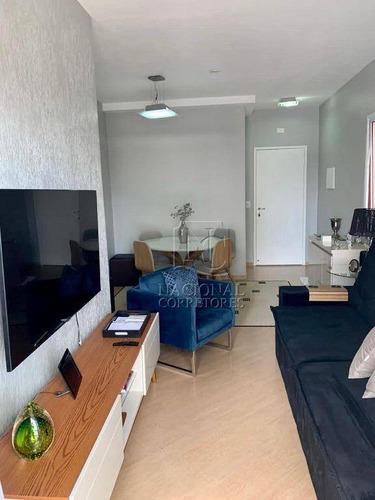 Apartamento Com 3 Dormitórios À Venda, 90 M² Por R$ 375.000,00 - Centro - São Bernardo Do Campo/sp - Ap11878