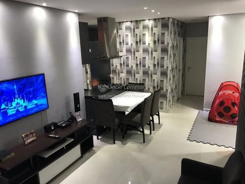 Imagem 1 de 15 de Apto 111 M² - Tipo Garden - Fatto Passion - Apartamento A Venda No Bairro Vila Augusta - Guarulhos, Sp - Sc00191
