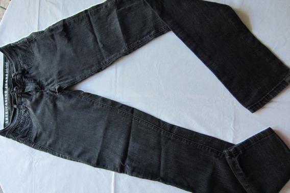 Jeans Negro, Chupín, Marca Americano Jeans!!!, Muy Buen Esta