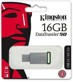 Kit 4 Pen Drive 16gb Kingston 3.1 Carcaça De Metal
