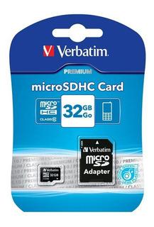 Microsdhc Verbatim 44083 32 Gb Clase 10