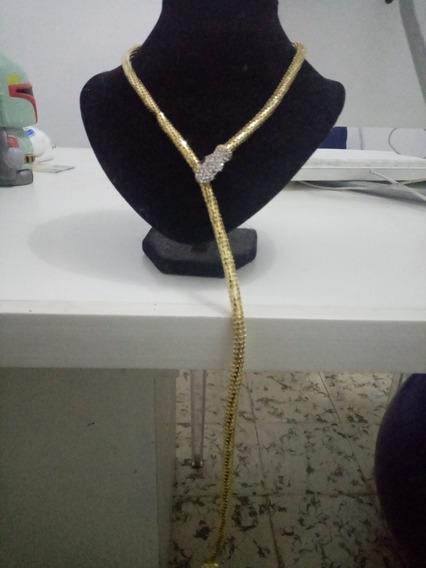 Collar Serpiente Dorado