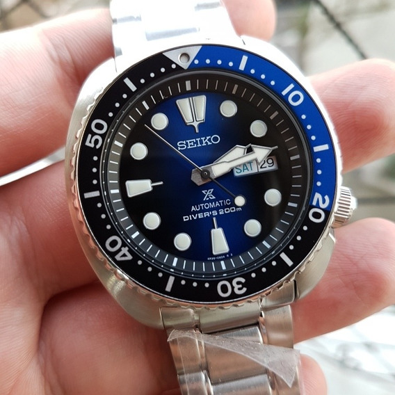Relógio Seiko Turtle Srpc25 K1 - Novo P. Entrega Diver
