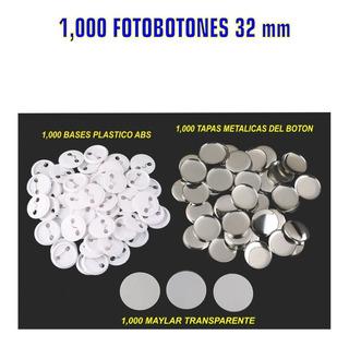 Fotoboton Publicitario 32 Mm 1000 Pin