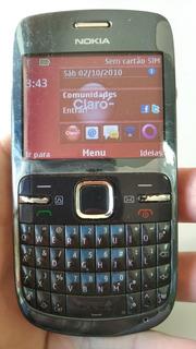 Celular Nokia Rm514 C3 00 Ligando * No Estado * Sem Garantia