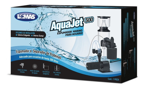 Lomas Espumador Aquajet 300 Acuario Marino 300 Litros Peces