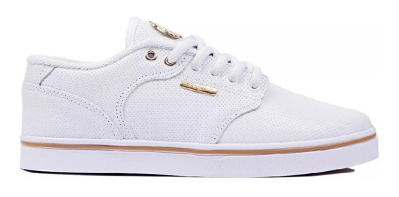 Tenis Hocks Montreal White Gold