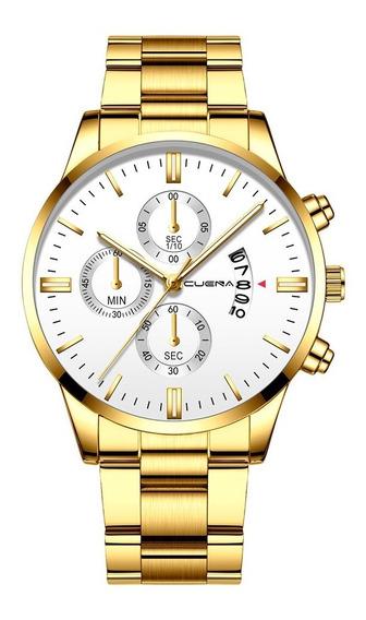 Relógio Masculino Aço Inoxidável Varias Cores Escolher Antes