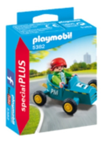 Playmobil Special Plus Niño Con Karting  Intek - Art.5382