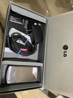 Celular LG Shine Me970d Com Caixa E Manuais