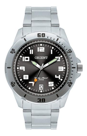 Relógio Orient Analógico Masculino Mbss1155a G2sx Calendário