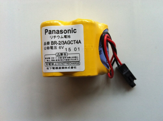 Bateria Para Cnc Fanuc Br-2/3agct4a 6v Panasonic (com 3 Un)