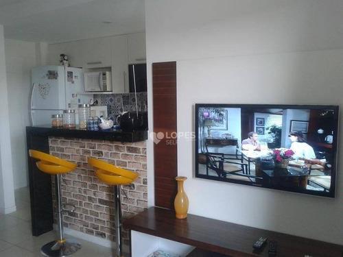 Apartamento Com 1 Dormitório À Venda, 50 M² Por R$ 395.000,00 - Itaipu - Niterói/rj - Ap38481