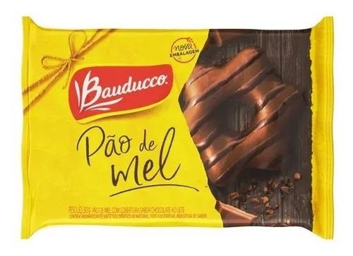 Imagem 1 de 1 de Pão De Mel Especial Chocolate Bauducco 30g