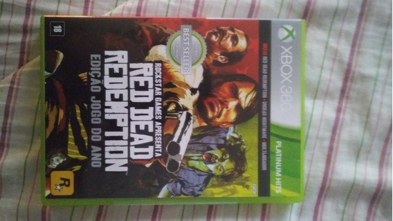 Jogo Original Red Dead Redemption Xbox 360, Duplo