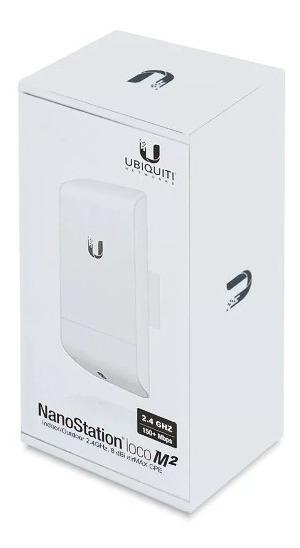 Ubiquiti Loco M2 Airmax Outdoor Cpe 2.4 Ghz Internaciona
