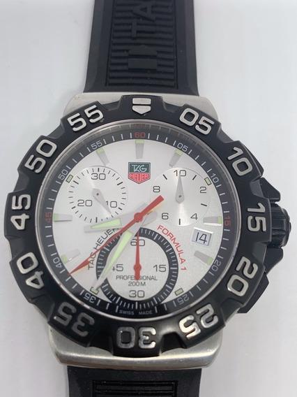 Relógio Tag Heuer Cah1111 Formula 1 Chronograph 41mm Revisad