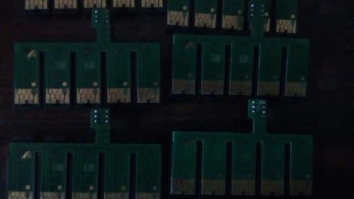 Chip Reseteable Epson 73n  5colores C110 T30.
