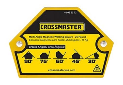 Escuadra Magnetica Multiangulo 11 Kg Crossmaster 9932272
