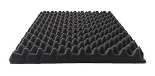Panel Acustico Aislante De Ruido Acuflex Basic Conos 25mm