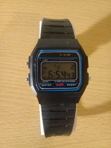a42e97e93318 Reloj Casio Plastico Color Negro - Relojes Pulsera en Mercado Libre ...