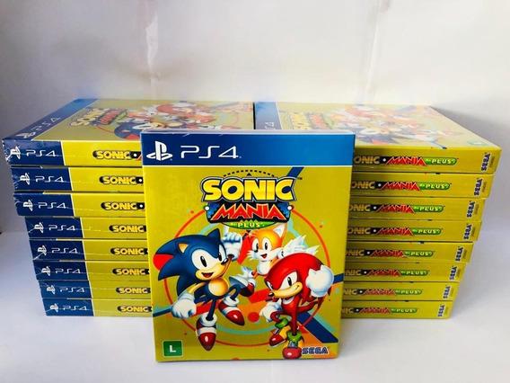 Sonic Mania Plus Ps4 Mídia Física Envio Imediato
