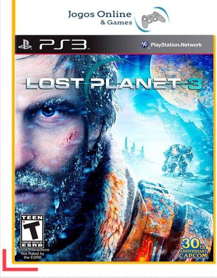 Lost Planet 3 Psn Mídia Digital Ps3 Jogo Cod