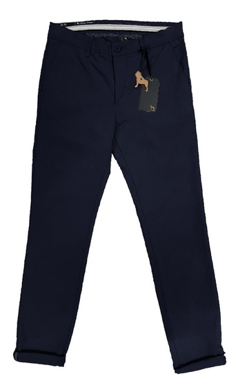 Pantalon Gabardina Chino Con Elastano | Bravo Jeans (16091)