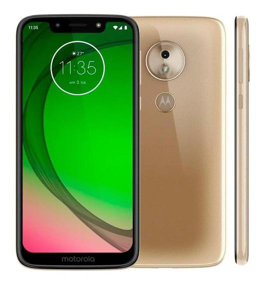 Smartphone Moto G7 Play Xt1952-5 Ouro Ediçao Especial Novo