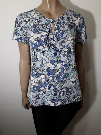 Ann Taylor Remera Exc Calidad Viscosa Talle M/ L Impecable