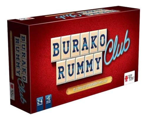 Imagen 1 de 2 de Juego de mesa Burako Rummy Club Top Toys