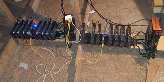 Rig Mineração 7 Rx470 Asus Minning Eth Btc