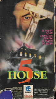 House 5 Vhs La Casa 5 Claudio Fragasso 1990 Terror