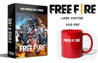 Kit Imprimible Free Fire Fondos Clipart Png Digital