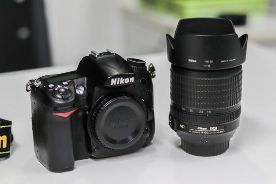 Nikon D7000 + 18-105mm + Bolsa - Completa