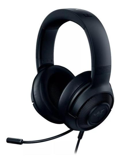 Fone de ouvido gamer Razer Kraken X classic black