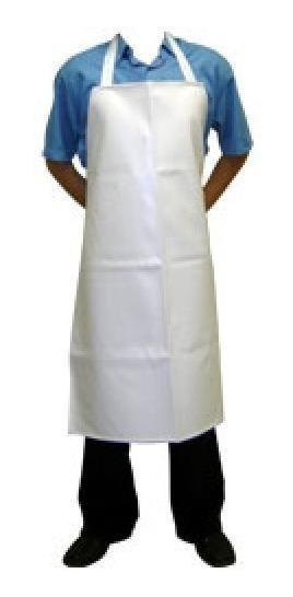 10 Avental Branco De (pvc) P/ Açougue, Cozinha, Padaria