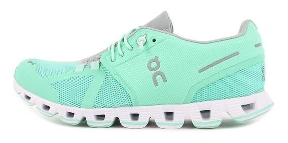 Tênis On Running Cloud Verde Feminino