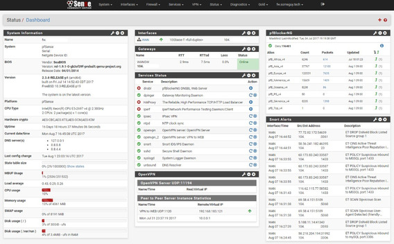 Pfsense - Firewall - Appliance - Configuraciones
