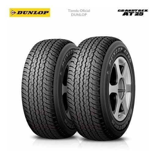 Kit X2 265/65 R17 Dunlop Grandtrek At25 + Tienda Oficial