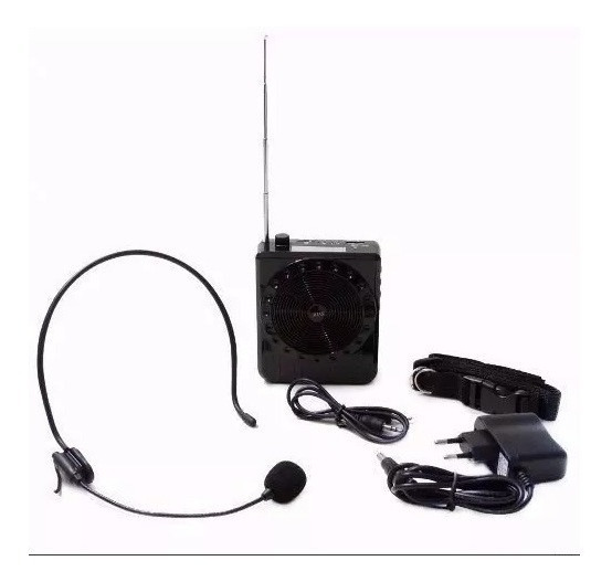 Kit Professor - Amplificador De Voz - Palestras - Boas K-150
